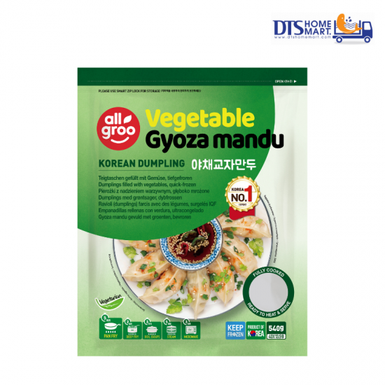KOREAN DUMPLING ALLGROO CHIVE GYOZA MANDU 540G (40pcs)