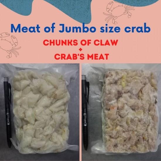 Jumbo Crab Meat 500g 蟹肉