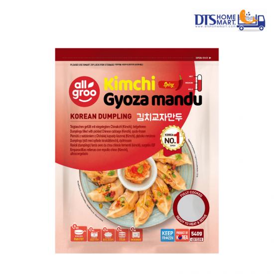 KOREAN DUMPLING ALLGROO KIMCHI GYOZA MANDU 540G (40pcs)