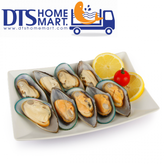 New Zealand Half Shell Mussel 1kg 纽西兰半壳青蚝