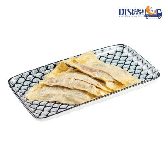 Fish Prawn Paste wrapped in Beancurd Skin 鲜鱼虾腐皮卷