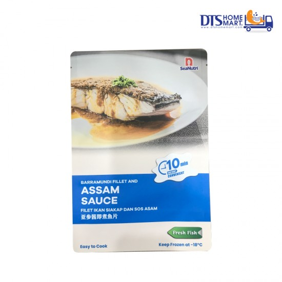 Barramundi Portion with Assam Sauce @ Easy-to-Cook
