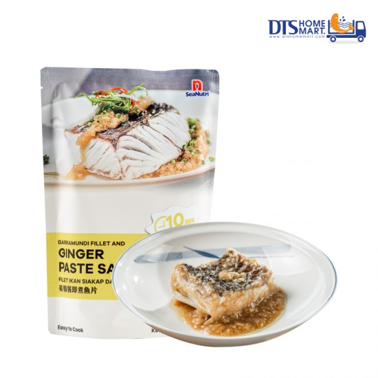 Barramundi Portion with Ginger Paste Sauce @ Easy-to-Cook