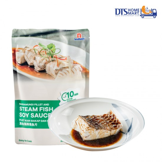 Barramundi Portion with Steam Fish Soy Sauce @ Easy-to-Cook
