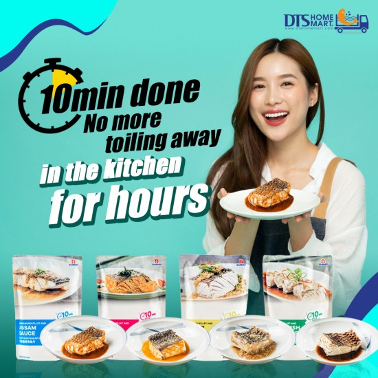 Buy 4 Free 1- Barramundi Fish with Sauce @ Easy-to-Cook