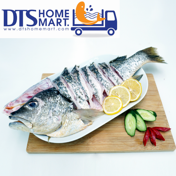 Golden Snapper Fish Cut Pcs (One Whole Fish @ 1.8kg-2kg)